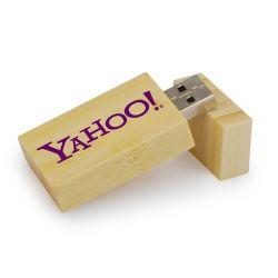 Bamboo Stick USB, de couleur sombre Couleur du voyant du lecteur Flash USB de bambou 2/4/8/16/32 Go