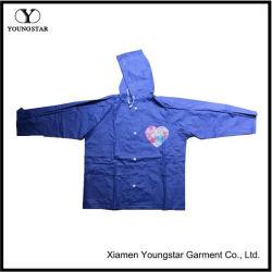 Revêtement en PVC étanche enfants Veste de pluie / pluie Cape