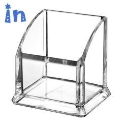 Venda por grosso de acrílico transparente em plástico transparente Cartão da empresa titular de caneta