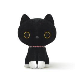 Изящный дизайн мультфильмов Мягкие плюшевые игрушки игрушка животных Black Cat