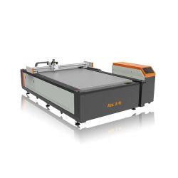 Commerce de gros 12 mois de garantie en cuir de signes de tissu de carton Kt Conseil PU CNC Machine de découpe du couteau oscillant
