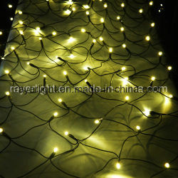 2.4*1.2M Professional Jardin Décoration de Noël de filets de lumières LED