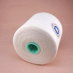 Wholeasle Semi terne du fil à coudre Polyester 42/3