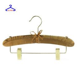 عالة لباس داخليّ/لباس/عرس/ثوب/ملابس أطلس زبد [بدّد] خشبيّة نسيج علاّق مع خرزة
