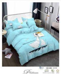Ткань из микроволокна Texile ткань, группа печати ткани для домашнего текстиля кровать устанавливает