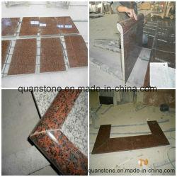 ألواح الأرضية باللون البني Sapphire/أسطح المناولة بالجرانيت
