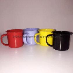 5cm 다른 색깔은 DIY 디자인 Enamelware 야영 찻잔을 주문을 받아서 만들었다
