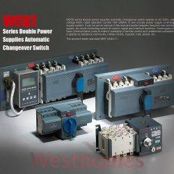 Doppelnetzteile Automatischer Schalter für intelligente Umschaltung 50 Hz 400 V (WCQ2) Umschalter