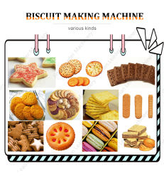En acier inoxydable de ligne de traitement de biscuit Biscuit Making Machine Biscuit de machines