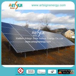 10kw الفناء الخلفي السكني الألواح الشمسية أنظمة السباق الكهروضوئية المثبتة على الأرض