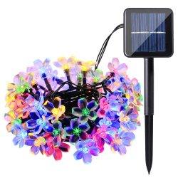 20a conduit l'eau à énergie solaire Peach Blossom Feux de chaîne (RS1020)