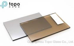 het Donkere (R-GB) Brons van 5mm 6mm/het Gouden Brons Met een laag bedekte Weerspiegelende Glas van het Blad van de Vlotter