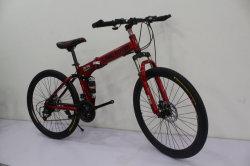 Dobra de 26 polegadas da estrutura de aço de quadros de bicicletas de montanha ser-008