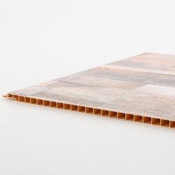 Il soffitto esterno del PVC del raccordo a prova d'umidità copre di tegoli il comitato di parete del PVC di 3D WPC