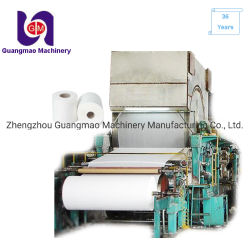 Beste Qualitätsseidenpapier-Herstellungs-Maschinen-Taschen-Gesichtspapiermaschine
