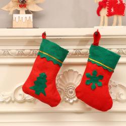 Des bas de Noël des chaussettes pour Santa Claus Candy sac cadeau pendaison décoration des arbres de Noël Arbre de Noël de chaussettes de conception