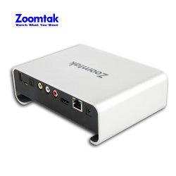 Admite 3D 4k de núcleo cuádruple de HDD Media Player Stream Box