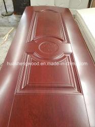 Pelle modellata di legno del portello della melammina del MDF di HDF