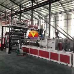 高性能の石のプラスチックシート機械を作る合成Spc PVCフロアーリングの生産ライン