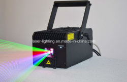 5W RGB 전색 DMX 애니메이션 스테이지 레이저 조명