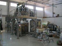 Machine automatique de ligne de production d'emballage de bonbons
