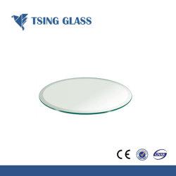 Plateau de coin de verre, charnière de Verre pour la décoration de meubles en verre trempé