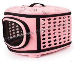 Hard Cover Pet Pet Transporteur - ventiler pliable Cage de voyage