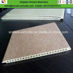 PVC Fibre végétale La carte du panneau mural intégré Machines de fabrication