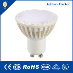 CE UL PF0.6 GU10 SMD 4 W 6W 7 W 調光可能 LED スポットライト中国製、ホテル、アクセント、バー、カウンター、ショールーム、 ディスプレイ、最高のメーカーのベッドルームライティング