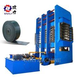 すばらしい価格の熱い販売のコンベヤーベルトのゴム製加硫の出版物機械