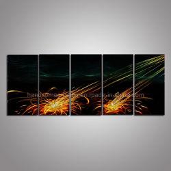 Abstract étincelle paroi métallique Art / Metal Craft pour la décoration