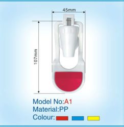 Water Dispenser Tap (A1 Male 또는 Female Type)를 위한 PP