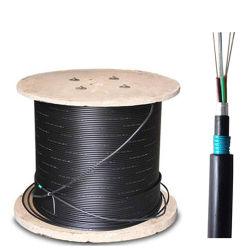 24/36/48/72/96 di memoria GYTA53 esterna dirige cavo ottico/di fibra ottica sepolto di Amoured/corazzato doppio rivestimento nel sottosuolo