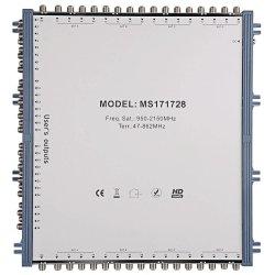 Ricevitore satellitare digitale personalizzato satellite multiswitore 17 in 28 out Per la TV satellitare