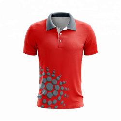2019 haut de tees hommes motif de grande taille Polo shirt en coton à manches courtes