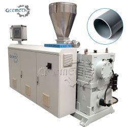 工場供給顧客用電気75mm PVC管の放出の機械装置