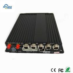 4 canaux GPS mobile 3G enregistreur vidéo numérique Mdvr de suivi de la carte SD
