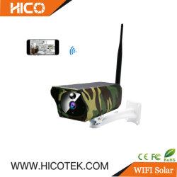 2MP étanches IP67 Panneau Solaire de plein air de la rue Mini WiFi de la chasse de vidéo surveillance caméra IP sans fil