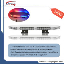 "Mini-LED helle Bar 18 "" Polizei-(LTF-A819AB-45)"