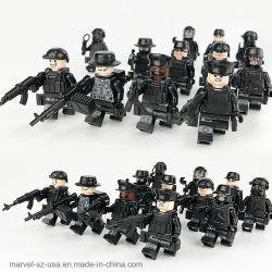 12PCS/Set de militaire Speciale Bouwstenen van het Speelgoed van de Kanonnen van de Bakstenen van de Militairen van Krachten Onderwijs