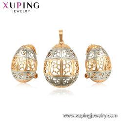 Ángel de amor exclusivo diseño de moda señoras joyas chapado en oro Circonita conjunto