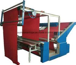 El cuero tela tejida PP película PE Edge-Align contando a la luz de rodadura plegable de tela de bobinado de inspección de comprobación de la medida de las pruebas de la máquina