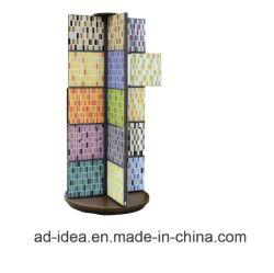 돌 또는 화강암 또는 모자이크 타일 전람 광고 장비를 위한 까만 금속 상점 전시 선반 또는 진열대 대
