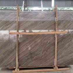 China Naturstein poliert/geschliffen/antik/sandgestrahlt Kaffee hölzerne braune Marmorfliesen für Inneneinrichtung/ Innen-/ Boden-/ Wanddekoration