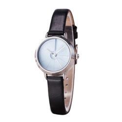Populaire face claire Bracelet en cuir véritable Mesdames petit Watch WY-133