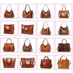 Fashion Mesdames les sacs à main femme Lady Designer Tote marché de gros de la qualité de luxe en cuir véritable sac à bandoulière Crossbody femmes distributeur Guangzhou en Chine