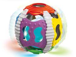 Hochet en forme de balle de bébé jouets la lumière de son jouet à bille, de renseignement de développement