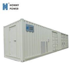 Googol 1000KW conteneur haute tension générateur diesel silencieux