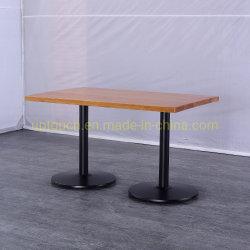 جديدة أسلوب مربع طاولة مقهى [سليد ووود] أعلى مطعم طاولة ([سب-رت612])