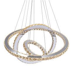 거실을 위한 유럽식 펜던트 램프 행잉 조명 크리스탈 조명 홈 장식